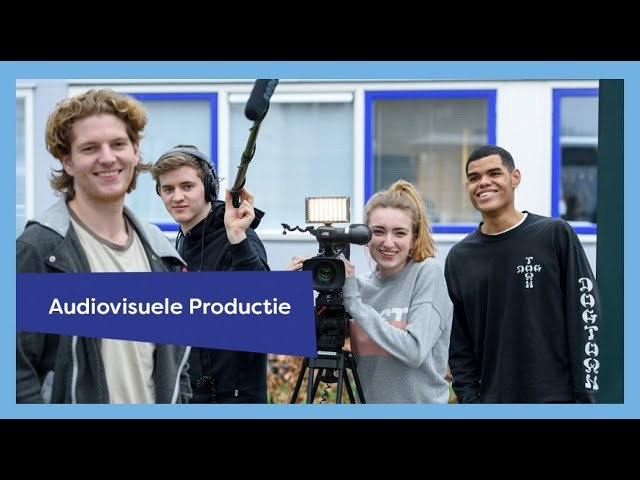 YouTube video - Opleidingspresentatie Audivisuele Productie